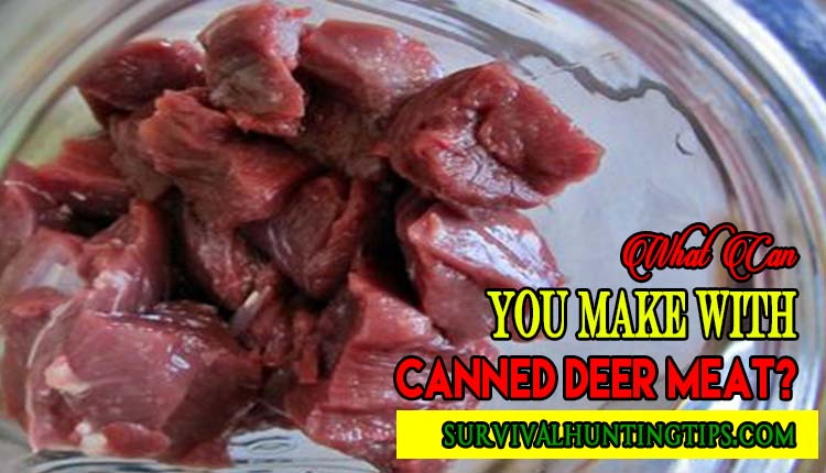 What Can You Make With Canned Deer Meat?