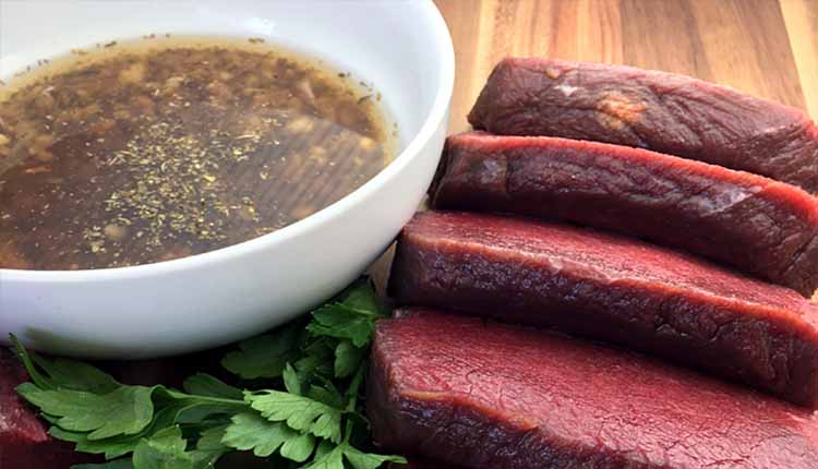 Elk Steak Marinade