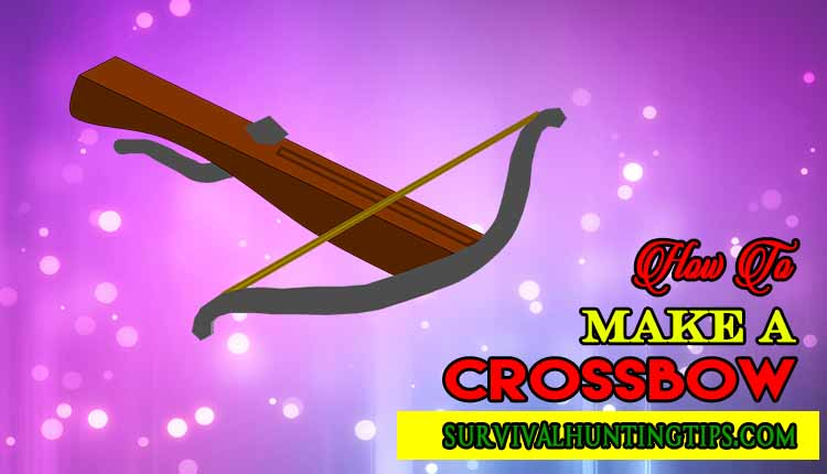 How To Make A Crossbow With Simple Household Materials